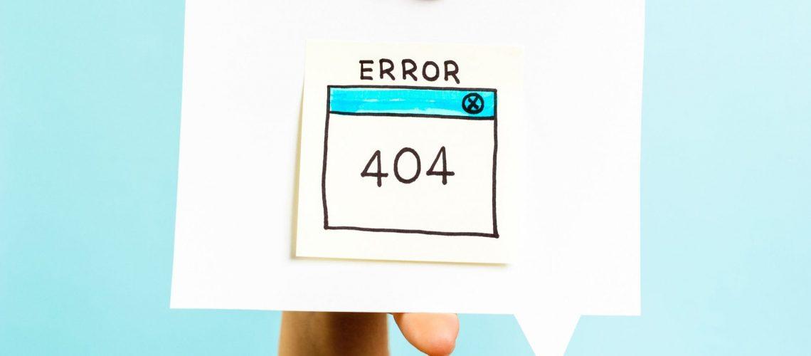 Not another 404 Error